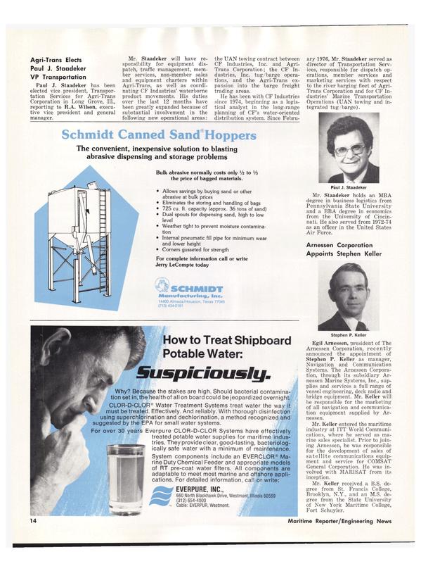 Maritime Reporter Magazine, page 14,  Dec 1978 New York