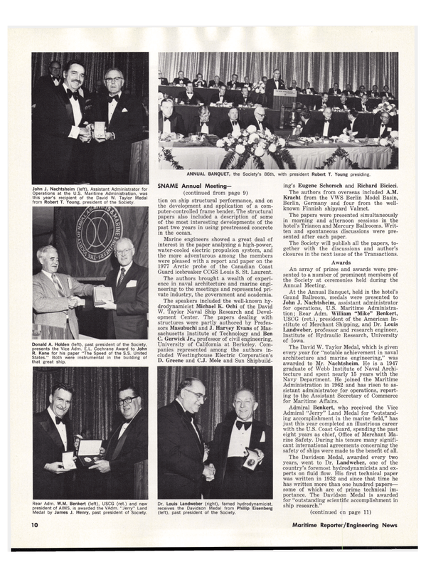 Maritime Reporter Magazine, page 12,  Dec 15, 1978