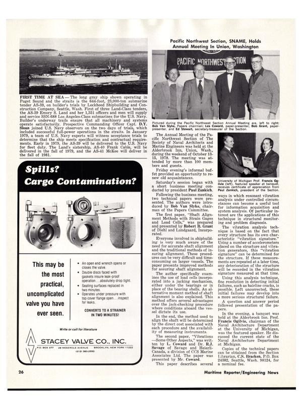 Maritime Reporter Magazine, page 30,  Dec 15, 1978