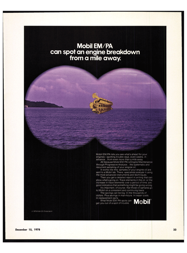 Maritime Reporter Magazine, page 37,  Dec 15, 1978
