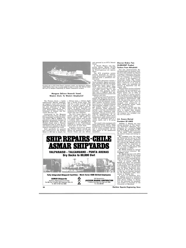 Maritime Reporter Magazine, page 16,  Jan 1980 Maryland