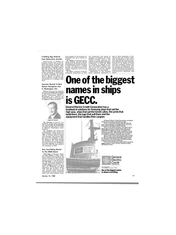 Maritime Reporter Magazine, page 9,  Jan 15, 1980