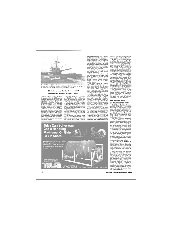 Maritime Reporter Magazine, page 18,  Jan 15, 1980