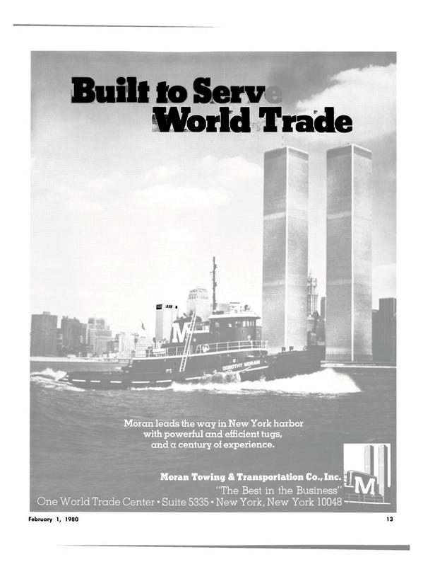 Maritime Reporter Magazine, page 11,  Feb 1980