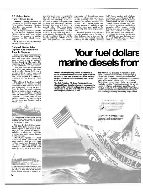Maritime Reporter Magazine, page 14,  Feb 1980