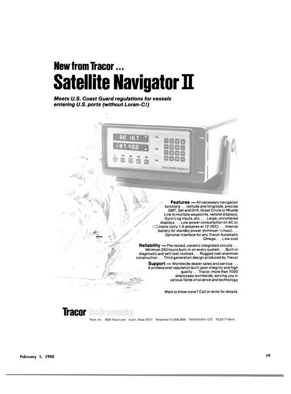 Maritime Reporter Magazine, page 17,  Feb 1980