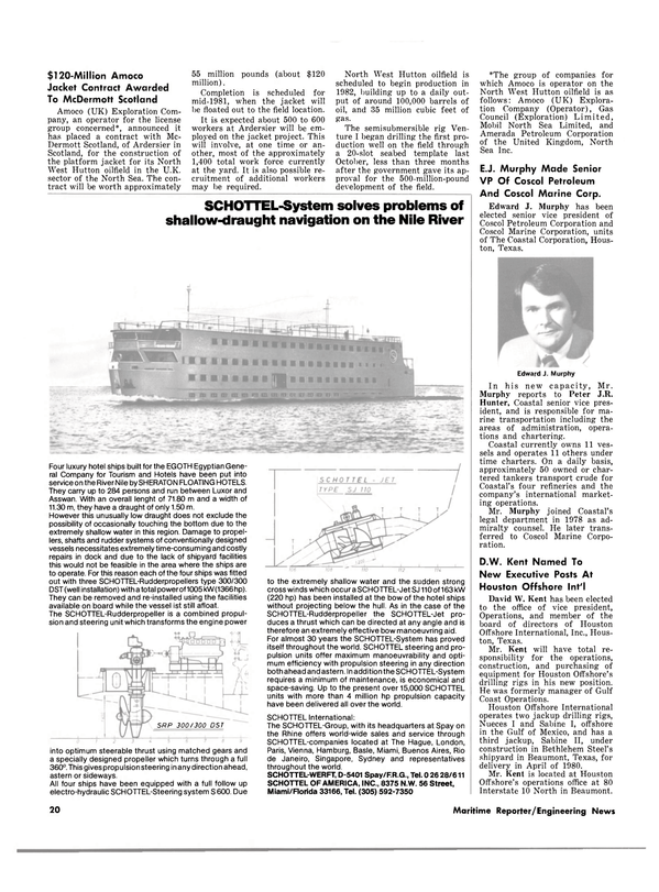 Maritime Reporter Magazine, page 18,  Feb 1980