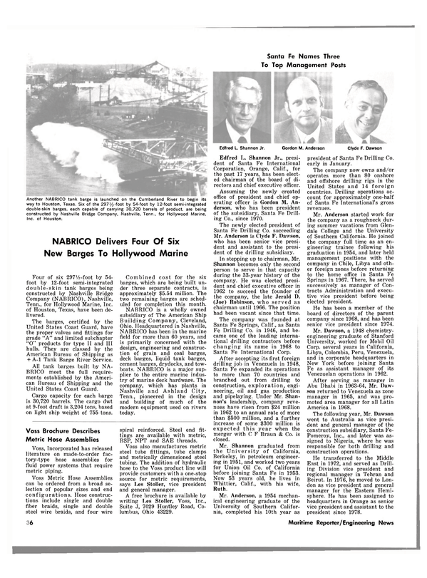 Maritime Reporter Magazine, page 34,  Feb 15, 1980