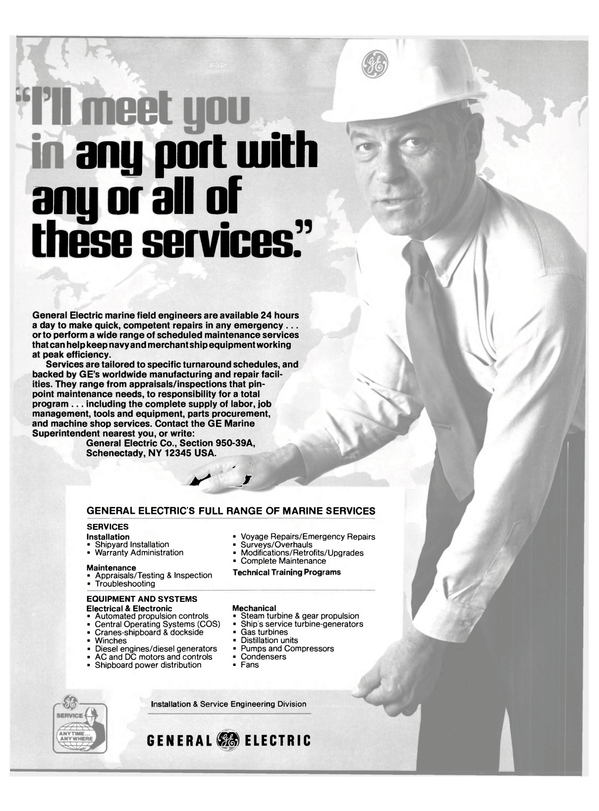 Maritime Reporter Magazine, page 14,  Mar 1980 Warranty Administration