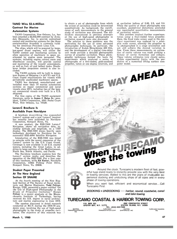 Maritime Reporter Magazine, page 39,  Mar 1980 James J. Reiss Jr.