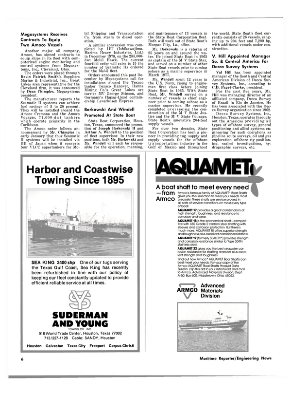 Maritime Reporter Magazine, page 4,  Mar 1980