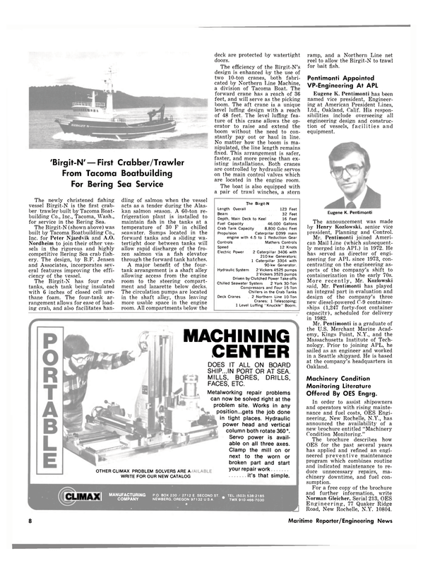 Maritime Reporter Magazine, page 6,  Mar 1980