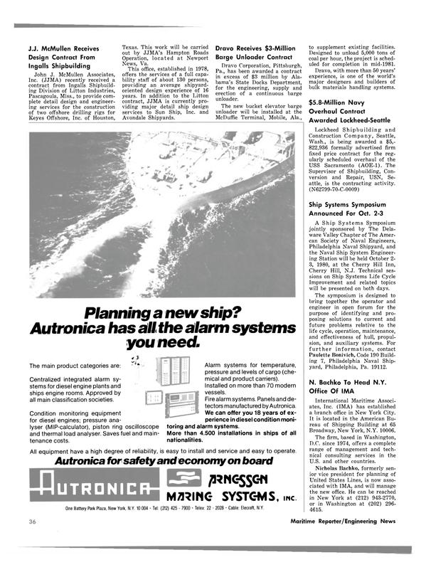 Maritime Reporter Magazine, page 28,  Mar 15, 1980 Alabama