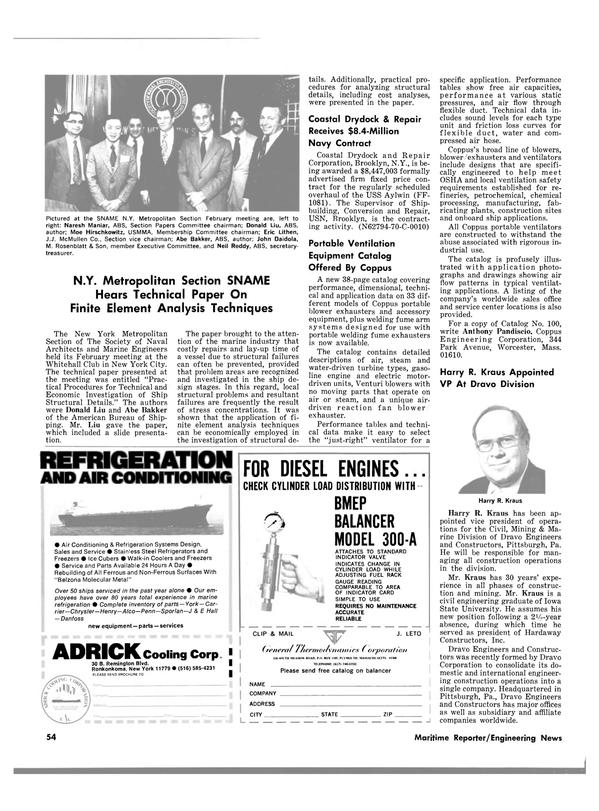 Maritime Reporter Magazine, page 48,  Mar 15, 1980 New York
