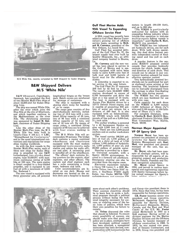 Maritime Reporter Magazine, page 6,  Mar 15, 1980