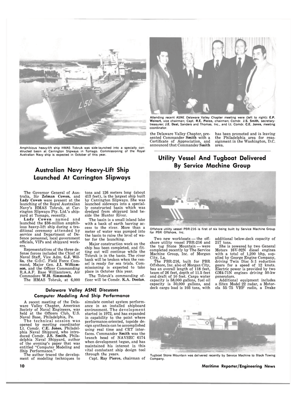 Maritime Reporter Magazine, page 8,  May 1980 J.I. William