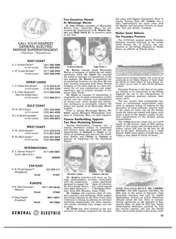 Maritime Reporter Magazine, page 17,  May 1980 Alaska