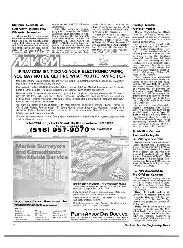 Maritime Reporter Magazine, page 26,  May 1980 British Columbia