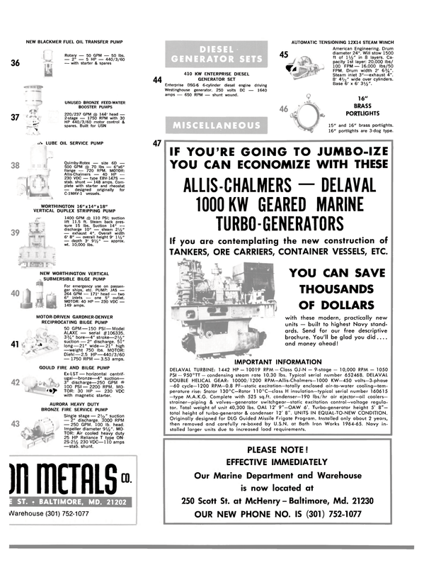 Maritime Reporter Magazine, page 29,  May 1980