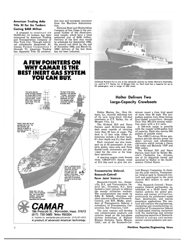 Maritime Reporter Magazine, page 4,  May 1980 eastern United States