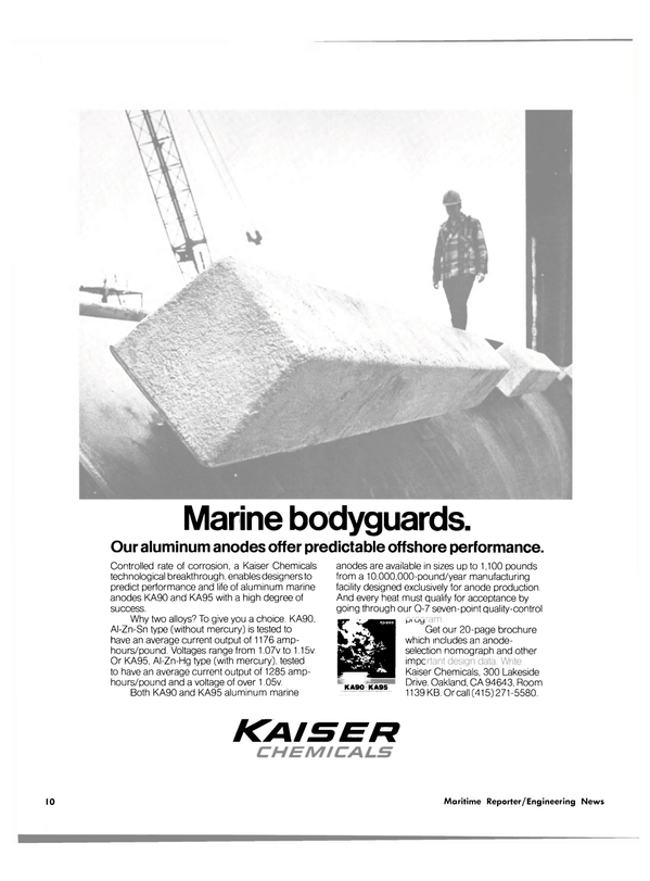Maritime Reporter Magazine, page 8,  May 15, 1980