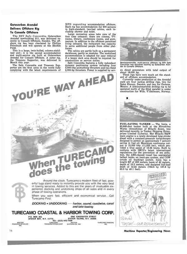 Maritime Reporter Magazine, page 14,  Jul 1980 crude oil