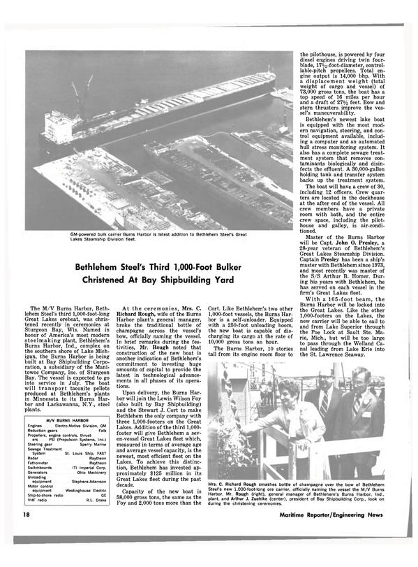 Maritime Reporter Magazine, page 16,  Jul 1980 Minnesota