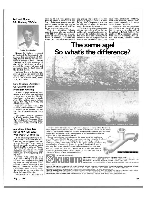 Maritime Reporter Magazine, page 29,  Jul 1980