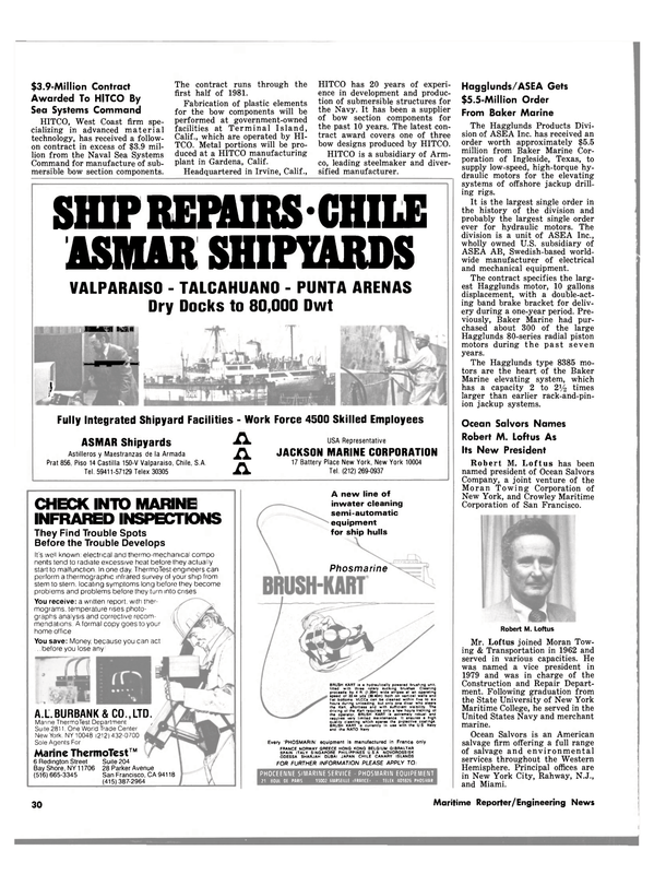 Maritime Reporter Magazine, page 30,  Jul 1980