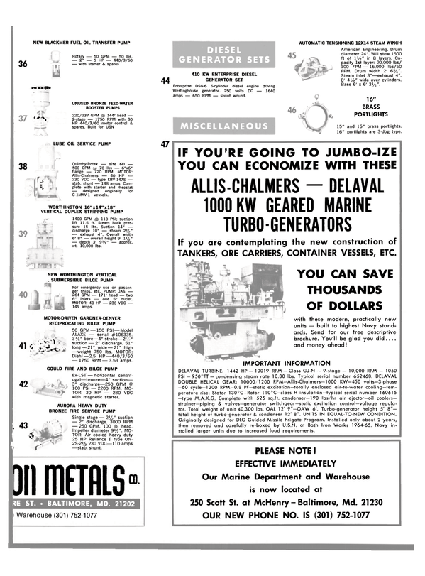 Maritime Reporter Magazine, page 33,  Jul 1980 oil coolers