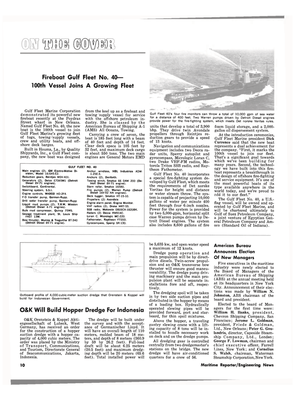 Maritime Reporter Magazine, page 8,  Jul 15, 1980 Dick Currence