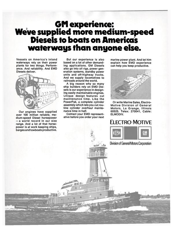 Maritime Reporter Magazine, page 12,  Jul 15, 1980