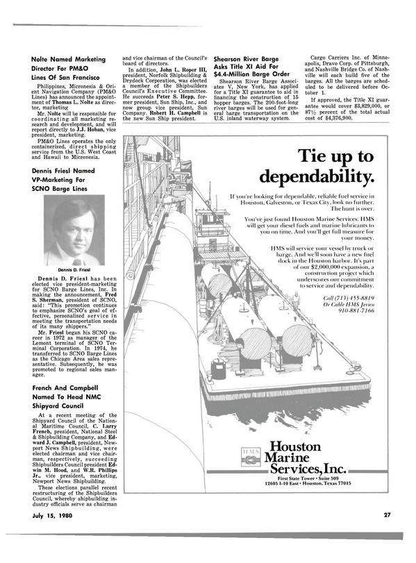 Maritime Reporter Magazine, page 27,  Jul 15, 1980 Hawaii