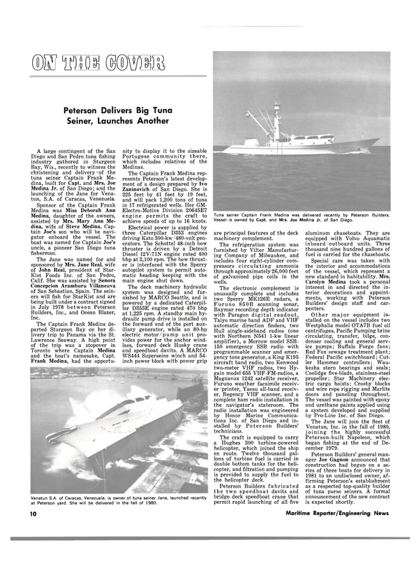 Maritime Reporter Magazine, page 8,  Aug 1980