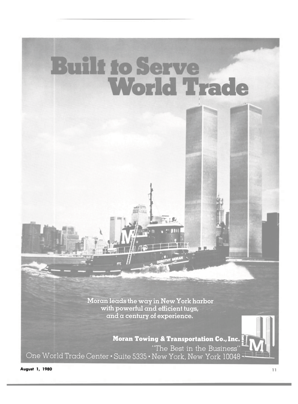 Maritime Reporter Magazine, page 9,  Aug 1980 World Trade Center