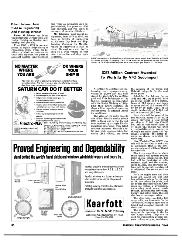 Maritime Reporter Magazine, page 28,  Aug 1980 Mississippi
