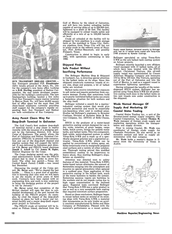 Maritime Reporter Magazine, page 10,  Aug 15, 1980