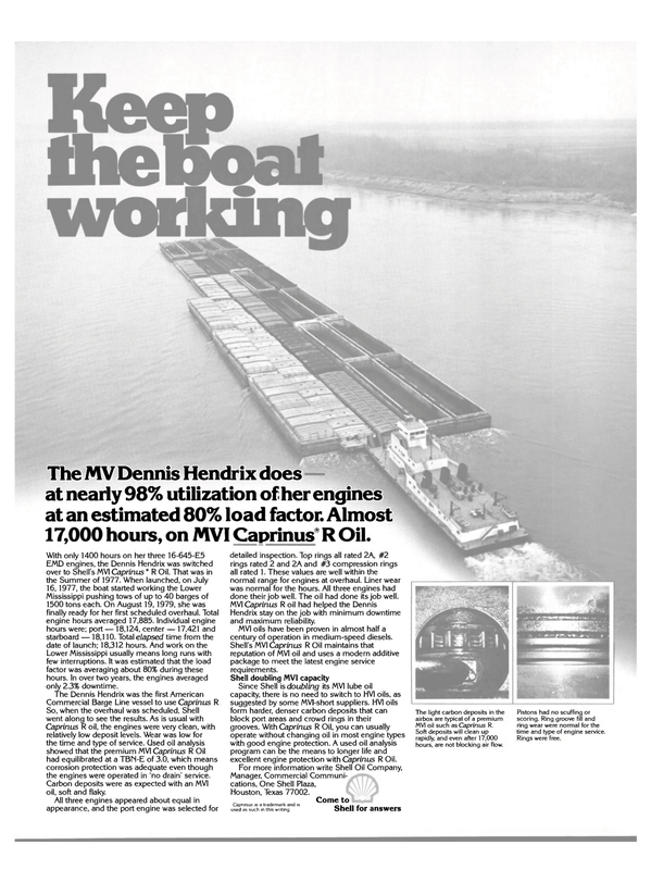 Maritime Reporter Magazine, page 21,  Aug 15, 1980 Texas