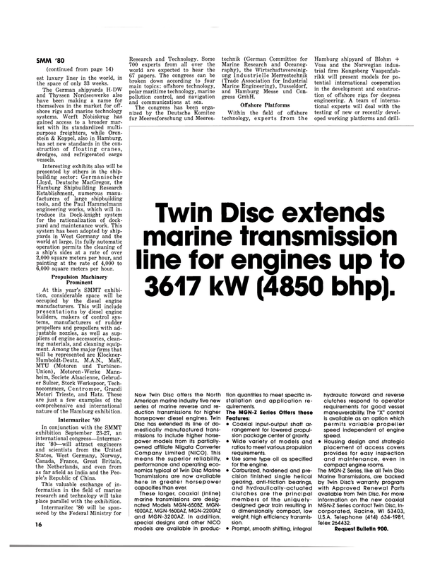 Maritime Reporter Magazine, page 14,  Sep 1980 German Committee for Marine Research and Oceanog
