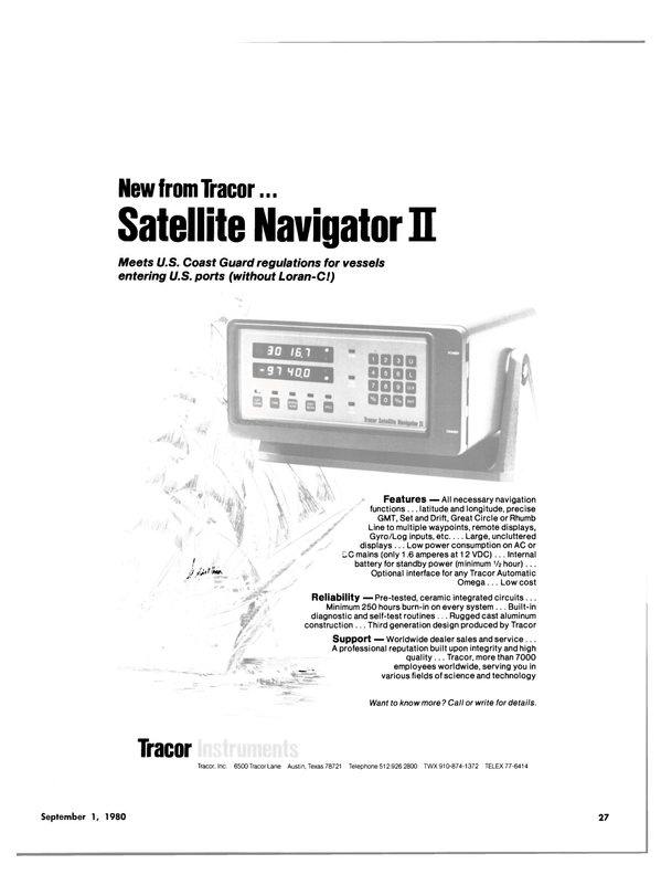 Maritime Reporter Magazine, page 25,  Sep 1980