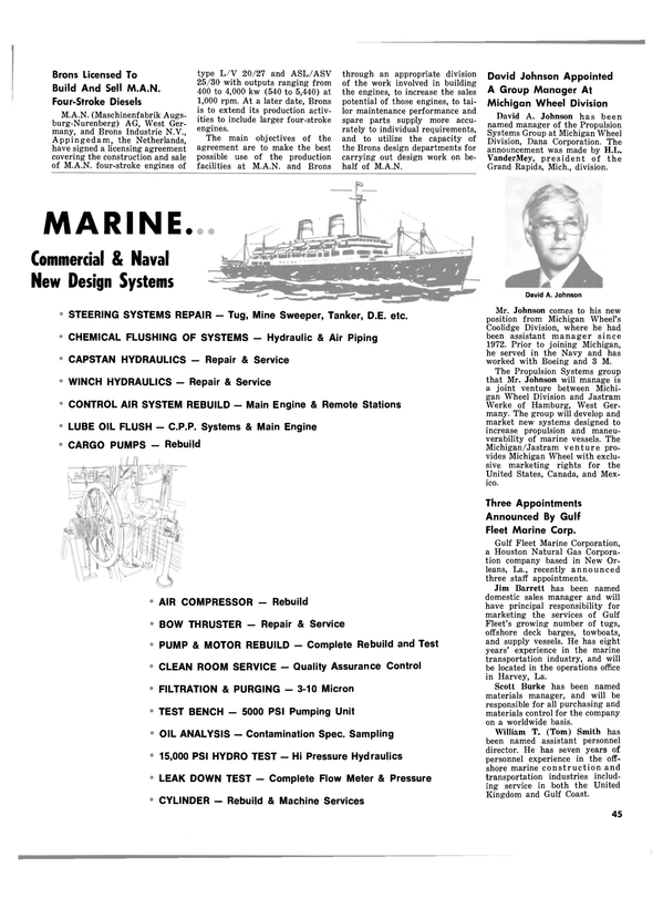 Maritime Reporter Magazine, page 43,  Sep 1980