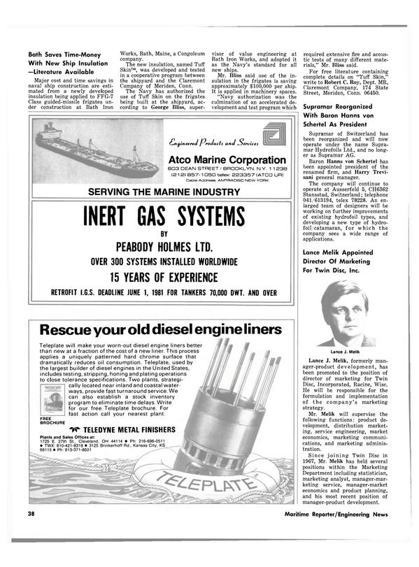 Maritime Reporter Magazine, page 36,  Sep 15, 1980 Kansas