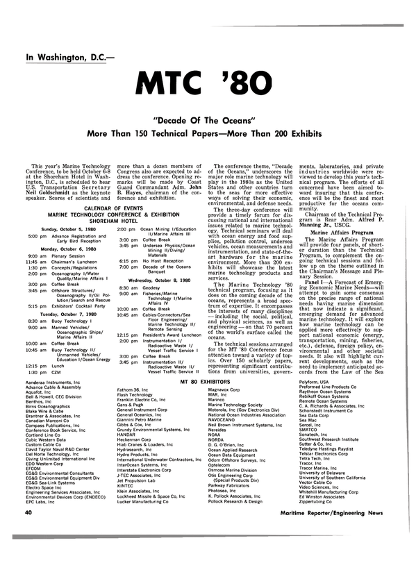 Maritime Reporter Magazine, page 38,  Sep 15, 1980 Flash Technology
