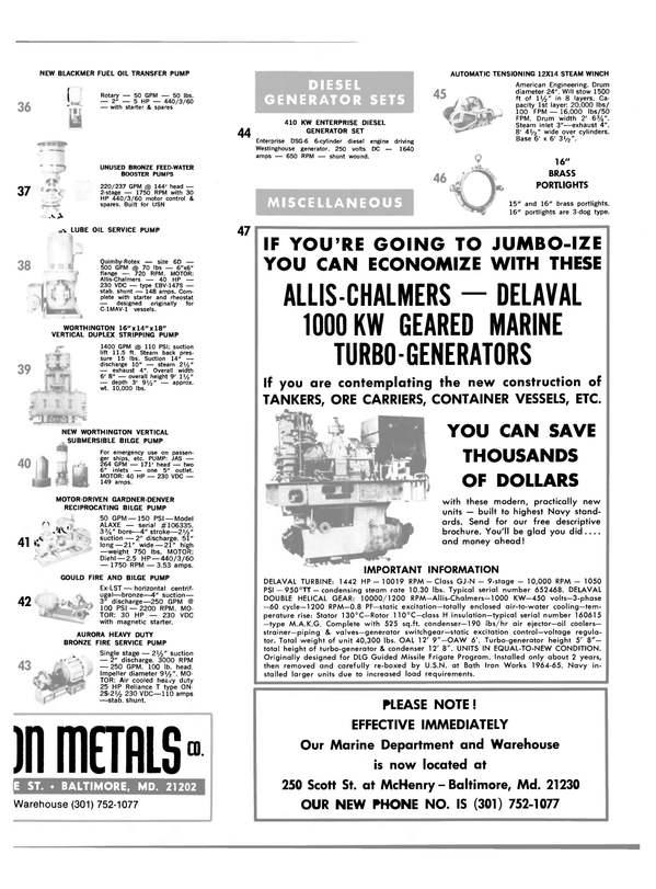 Maritime Reporter Magazine, page 33,  Oct 1980 Gould