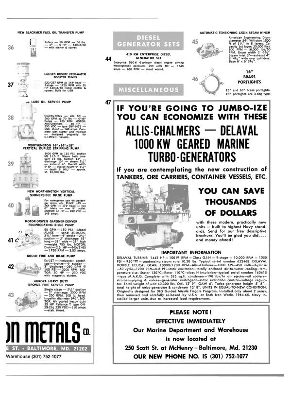 Maritime Reporter Magazine, page 33,  Oct 1980