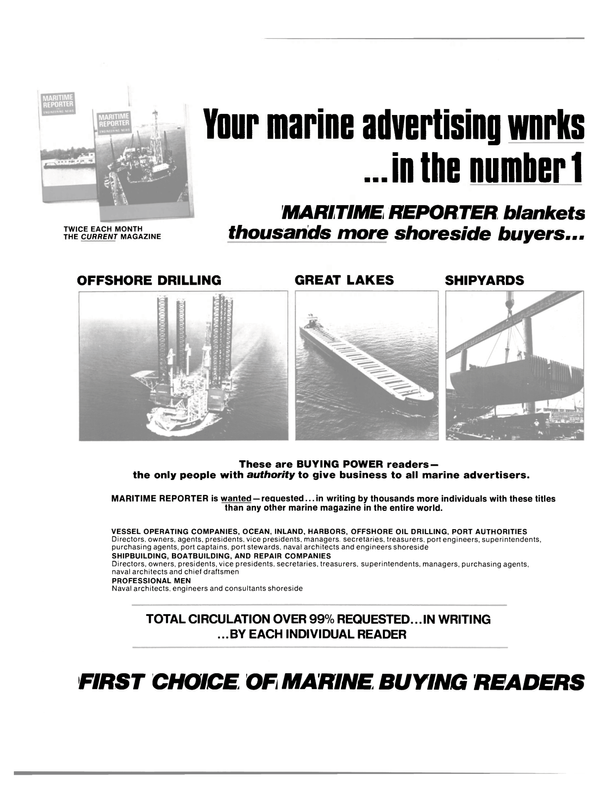 Maritime Reporter Magazine, page 34,  Oct 1980 PORT AUTHORITIES Directors
