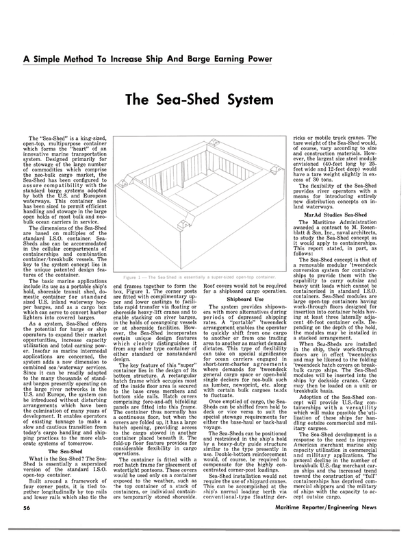 Maritime Reporter Magazine, page 56,  Oct 15, 1980 barge systems
