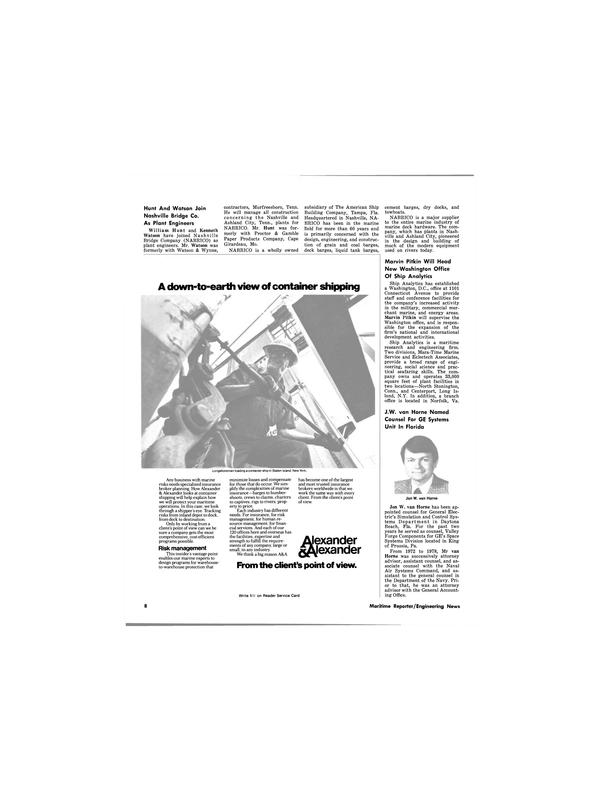 Maritime Reporter Magazine, page 8,  Nov 1980 Pennsylvania