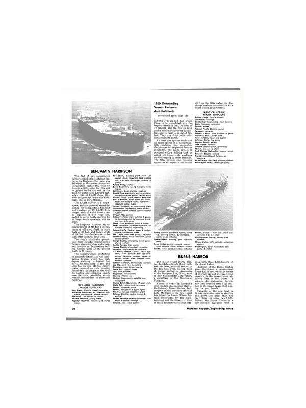 Maritime Reporter Magazine, page 18,  Dec 1980 Burns Harbor