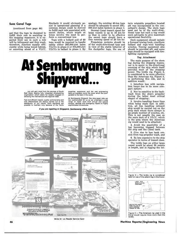 Maritime Reporter Magazine, page 42,  Dec 15, 1980
